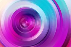 Abstract rainbow spiral, colorful background. Royalty Free Stock Image