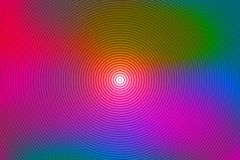 Abstract rainbow spiral, colorful background. Stock Photos