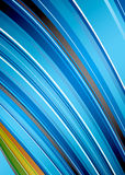 Abstract rainbow strike Royalty Free Stock Image