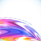 Abstract rainbow stripes vector shining background Royalty Free Stock Photography