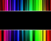 Abstract rainbow technology background. Abstract rainbow multicolored technology background Vector Illustration