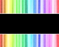 Abstract rainbow technology background. Abstract rainbow multicolored technology background Stock Illustration