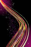 Abstract Rainbow Wave Royalty Free Stock Image