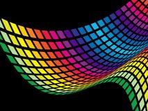 Abstract rainbow wave Royalty Free Stock Photos