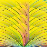 Abstract rainbow wavy background Stock Photography