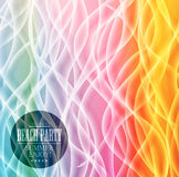 Abstract rainbow web bacground. Triangles Stock Image