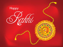 Abstract raksha bandhan Background. Vector illustration Royalty Free Stock Images