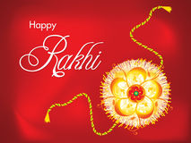 Abstract raksha bandhan Background. Vector illustration Royalty Free Stock Image