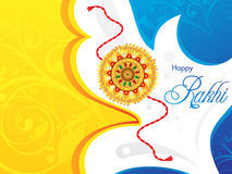Abstract raksha bandhan background Royalty Free Stock Photo