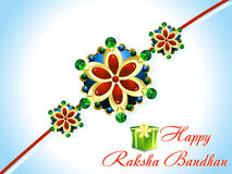 Abstract raksha bandhan rakhi background. Vector illustration Stock Photo