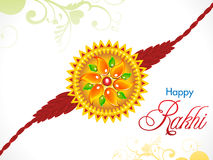 Abstract raksha bandhan rakhi background Royalty Free Stock Image