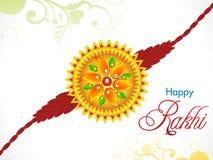 Abstract raksha bandhan rakhi background Royalty Free Stock Image