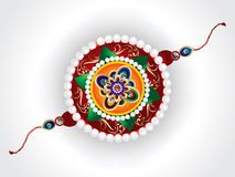 Abstract raksha bandhan vector rakhi Stock Photography