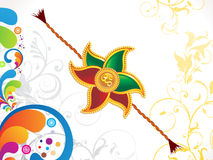 Abstract raksha bandhan wallpaper. Vector illustration Stock Images