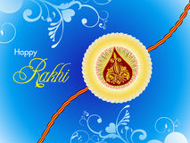 Abstract raksha bandhan wallpaper Stock Photography