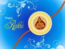 Abstract raksha bandhan wallpaper. Illustration Stock Photography