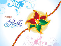 Abstract raksha bandhan wallpaper Royalty Free Stock Photos