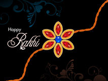 Abstract raksha bandhan wallpaper. Illustration Stock Images