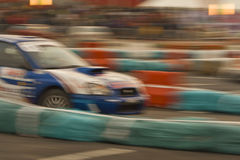 Abstract rally Royalty Free Stock Image