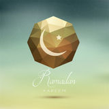 Abstract Ramadan background Stock Image