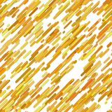 Abstract random diagonal rounded stripe pattern background - vector graphic from colored lines on white background. Abstract random diagonal rounded stripe Stock Photography