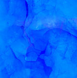 Abstract raster blue deep water Royalty Free Stock Photo