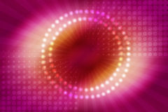 Abstract ray and circle background Stock Image