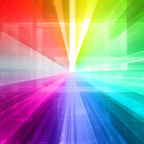 Abstract ray light Royalty Free Stock Images