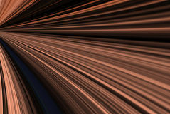 Abstract Rays. A digitally generated image in the shape of copper colored rays and beams Royalty Free Stock Image