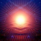 Abstract rays Stock Photo