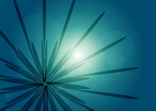 Abstract rays - background Stock Image