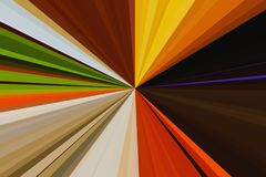 Abstract rays background. Colorful stripes beam pattern. Stylish illustration modern trend colors. Stock Photo