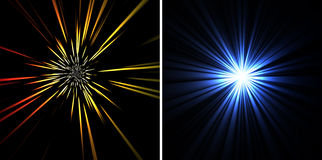 Abstract rays background Stock Photo