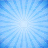 Abstract rays on blue background. This is file of EPS10 format Royalty Free Stock Photography