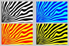 Abstract rays - striped background Royalty Free Stock Images