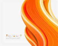 Abstract realistic solid wave background Royalty Free Stock Images