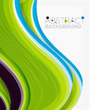 Abstract realistic solid wave background Royalty Free Stock Photo