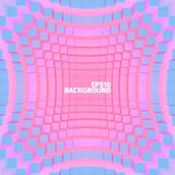 Abstract rectangle background. 3d  illustration. Web banner Stock Photography