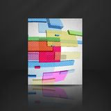 Abstract Rectangle Background. Vector Illustration. Eps 10 royalty free illustration