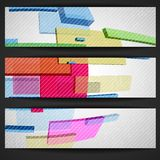 Abstract Rectangle Banner. Stock Photography