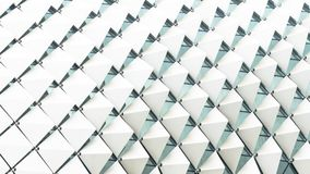 Abstract rectangle square folded pattern white gradient royalty free stock images