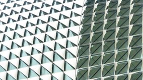 Abstract triangle folded pattern white gradient royalty free stock photo