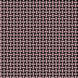 Abstract rectangles pattern light brown black netting Stock Photography