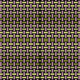 Abstract rectangles pattern violet green black netting Stock Photo