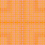 Abstract rectangles pattern yellow orange lilac. Abstract geometric seamless background. Regular rectangles pattern in yellow and orange shades on lilac royalty free illustration