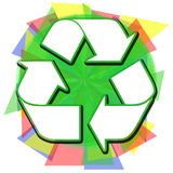 Abstract Recycle Royalty Free Stock Photography