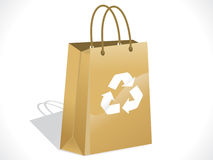 Abstract recycle bag Stock Image