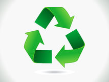 Abstract recycle icon Royalty Free Stock Image