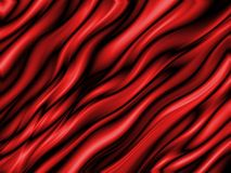 Abstract red. Fibers in background Stock Illustration
