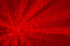 Abstract Red Stock Image